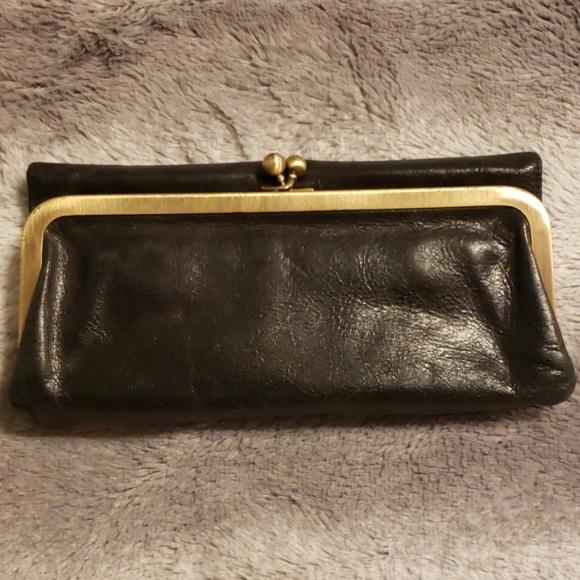 HOBO Handbags - *SOLD*Hobo Wallet Tri Fold from Nordstrom w/mirror